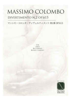 Divertimento 2 op. 615 for oboe, clarinet, bass clarinet - Massimo Colombo
